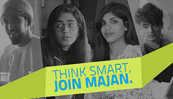 Think Smart, Join Majan!