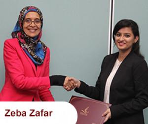 Zeba Zafar