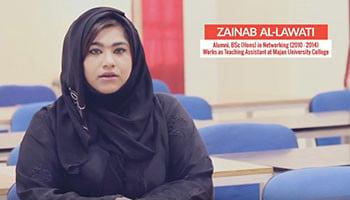 Zainab shares her Majan experience