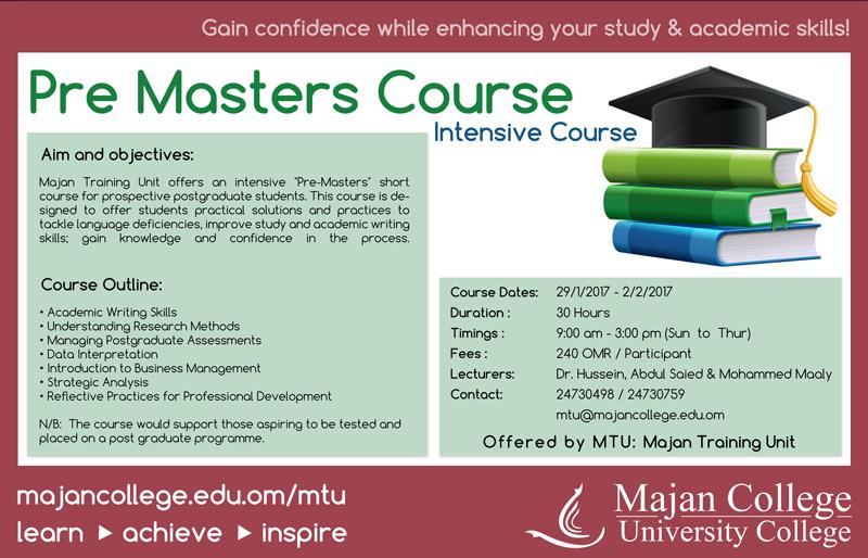 Pre-Master Programme