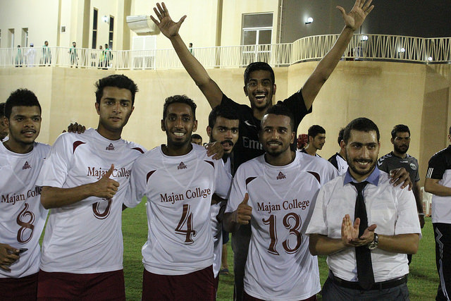 Football Match against Gulf College