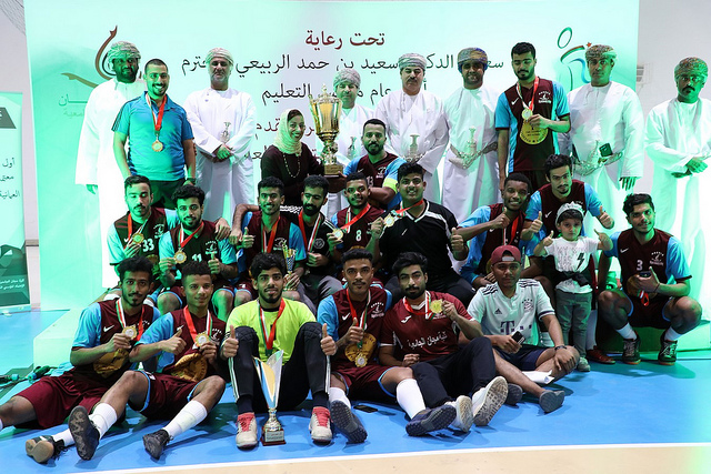 Majan win student futsal tournament 2018