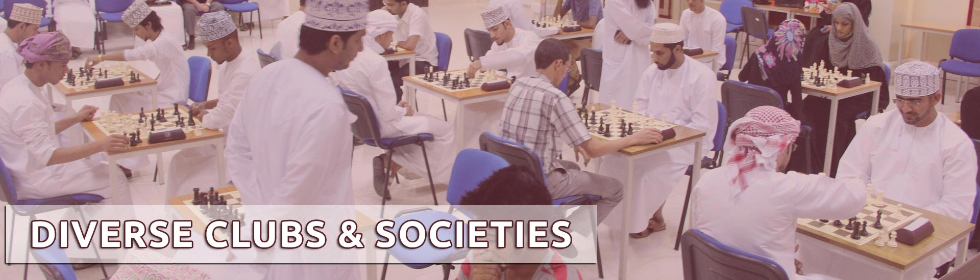 Diverse Clubs & Societies